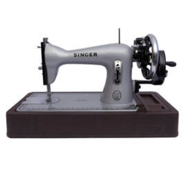 Singer silver girl straight stitch sewing machine